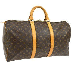 Louis Vuitton Keepall 50 Travel Hand #N2482V48O